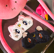 cute kawaii cartoon moon sleep eye mask YV16015