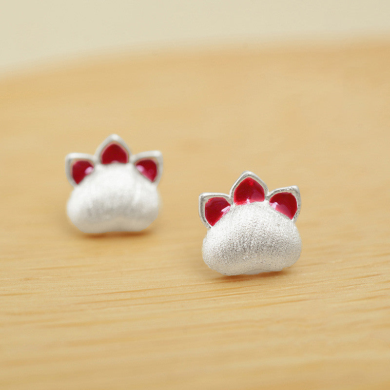 Cute cat claw earrings YV43629