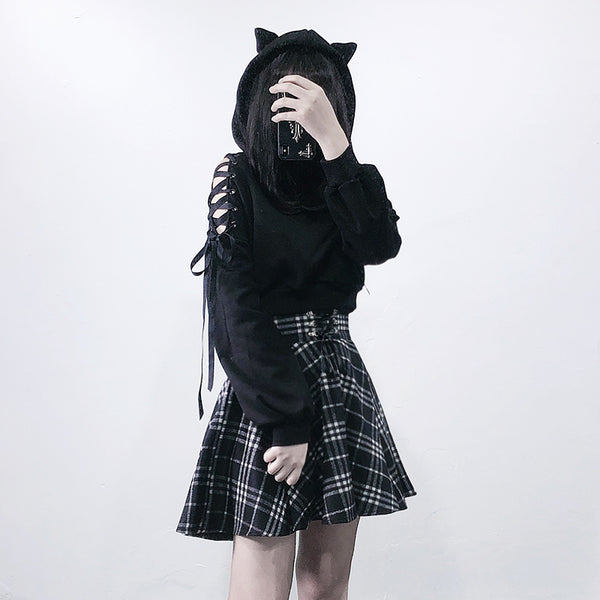 Japanese cat ear sweater yv42812