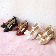 Cute bow shoes YV41078