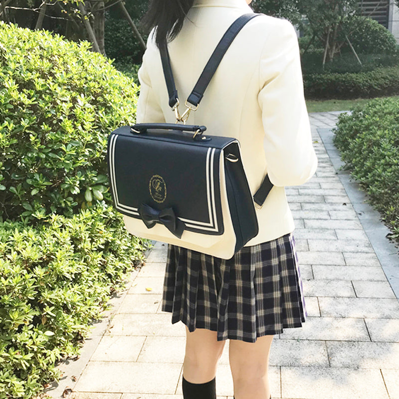 Japanese college wind JK uniform bag yv42020