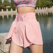 High waist sports shorts yv42890