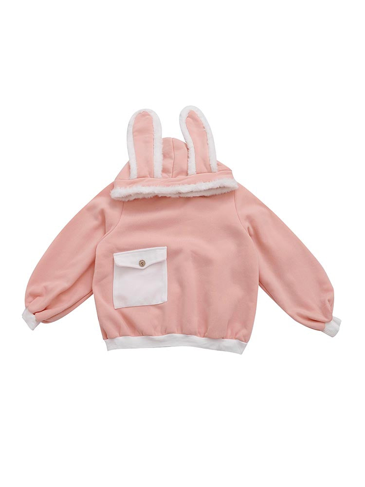 Cute rabbit ear sweater yv406648