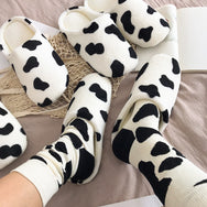 Milk warm cotton shoes YV40866