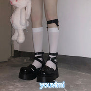 Medium long calf socks + leg ring yv42086