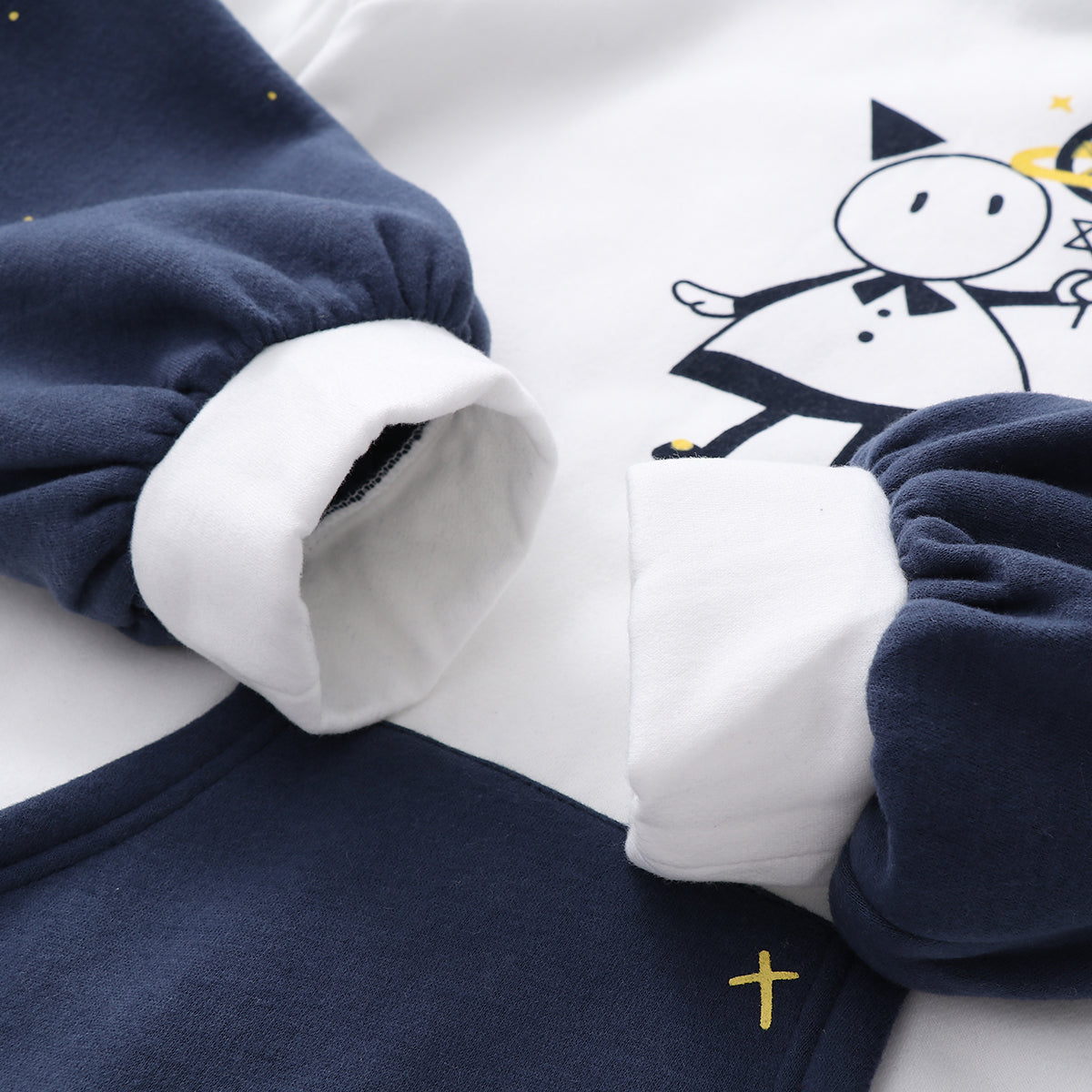 Japanese Cute Star Hooded Sweater yv40521