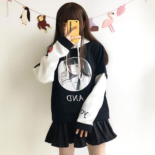 Japanese DAV Cartoon Sweater YV40797