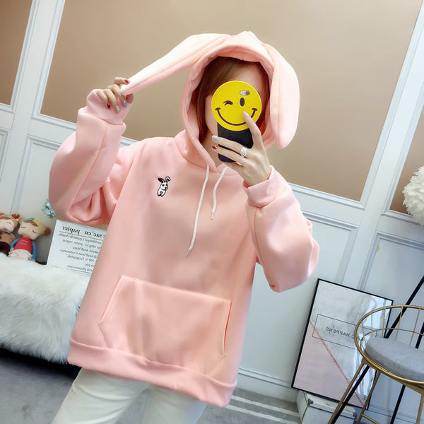 Cute rabbit ear sweater yv42686