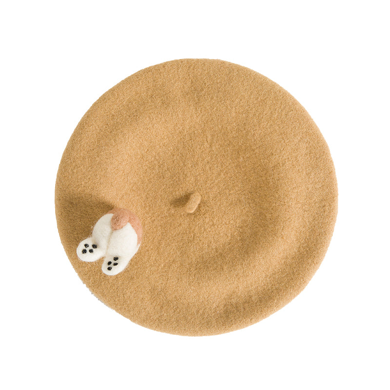 Cute puppy beret YV40906