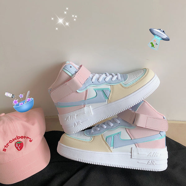 All-match macaron sneakers YV43494