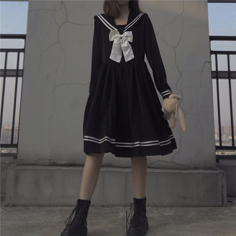 Lolita sailor uniform dress YV43476