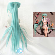Hatsune Miku cosplay mint green wig YV43450