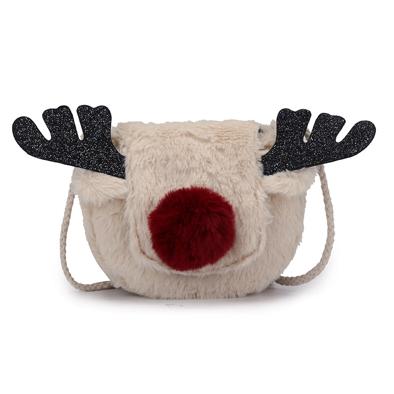 Reindeer plush bag YV40977
