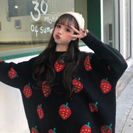 Cute Strawberry Sweater YV40909