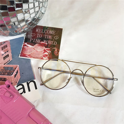 Literary retro wind glasses YV9046