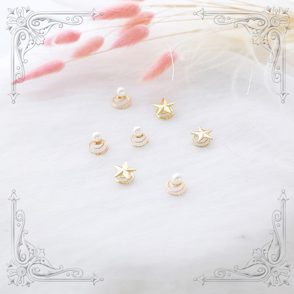 Star pearl hair accessory (2 pieces)yv42030