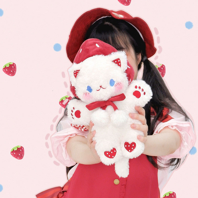 Strawberry Cat Shoulder Bag YV43730