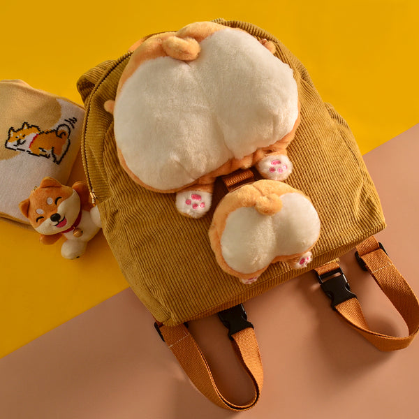 Cute corgi ass backpack yv42872