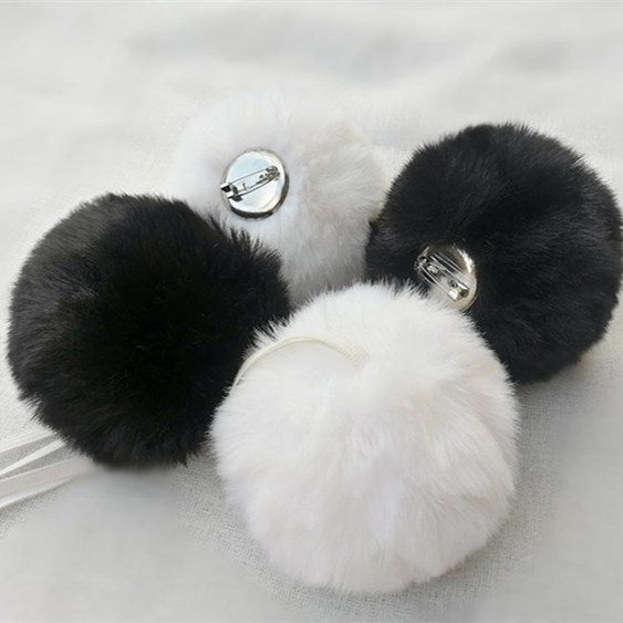 Lolita rabbit hair ball hair rope YV30034