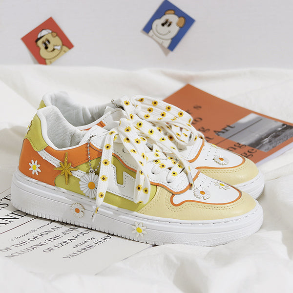 Daisy hand-painted shoes YV42941