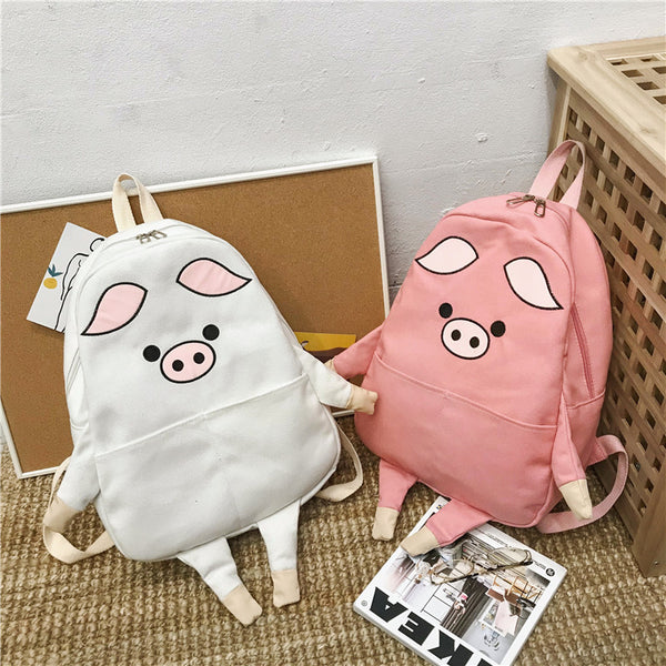 Cute  funny lucky cat backpack yv43440