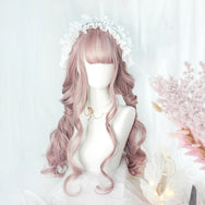Cute Lolita long roll wig yv42531