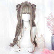 Lolita gradient long roll wig yv42534