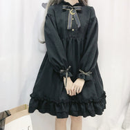 Moon Bowknot Dress YV43650