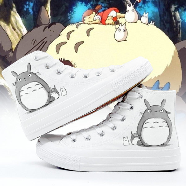 Anime Totoro canvas shoes yv42150