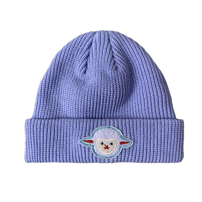 Cute lamb knitted hat YV43597