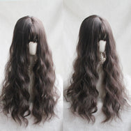 Lolita brown long curly hair wig YV43550