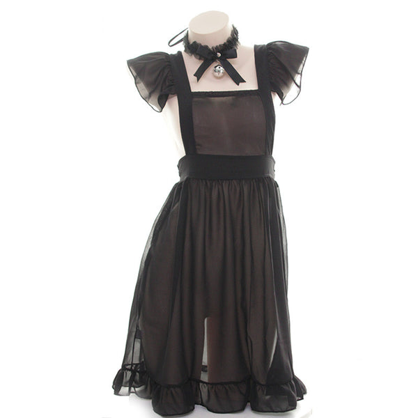 Bow tie maid dress nightdress yv42208