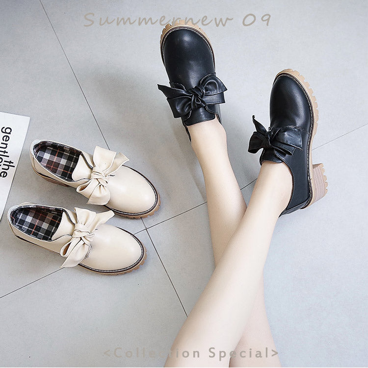 Lolita bow shoes YV40970