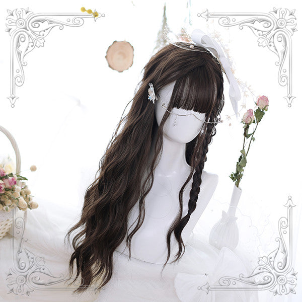 Lolita water grain long wig YV42104