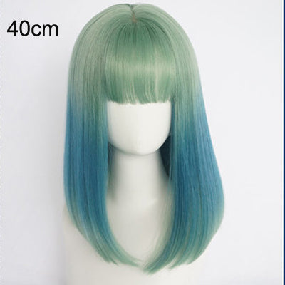 Harajuku Gradient Long straight hair YV90043