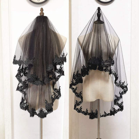Halloween Dark Bridal Cos Lolly Veil YV42390