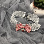 Lolita bow lace necklace YV42938