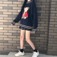 Cute bear knit sweater yv42564