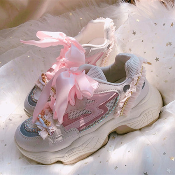 youvimi Peach Clunky Sneaker YV30007