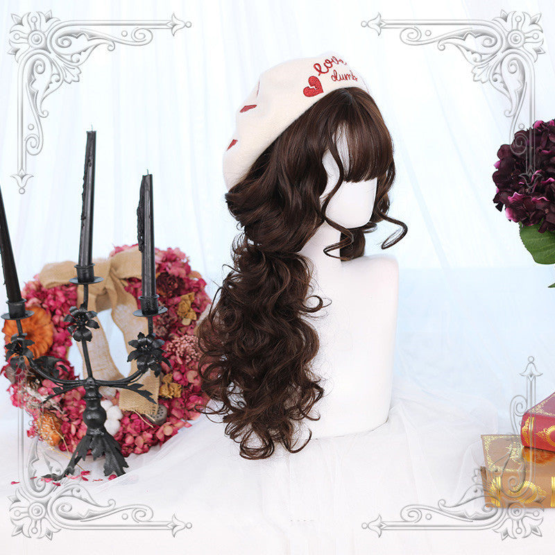 Multicolor Daily Lolita Medium Long Curly Hair  YV42780