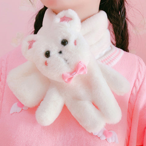Cute bear scarf YV43616