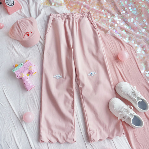 Cute lace casual pants YV43540