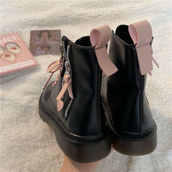Pink little love Martin boots yv43610