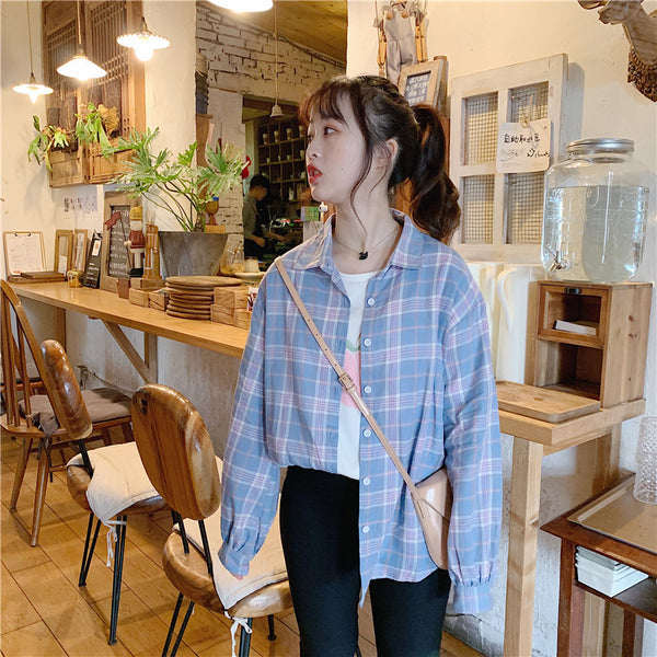 Korean literary style shirt YV9047