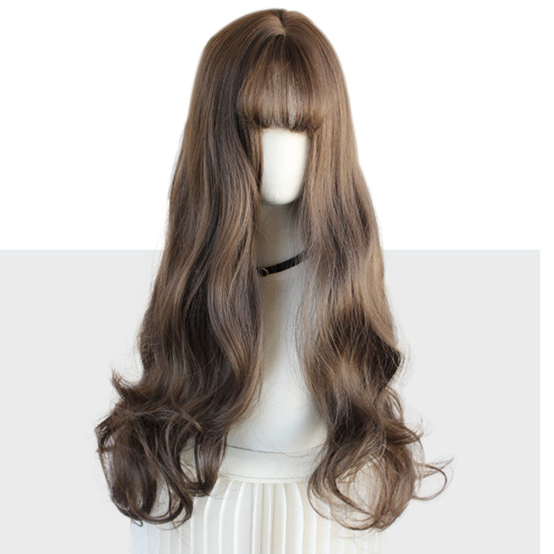 Lolita Medium Length Natural Curly Wig YV43426