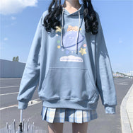 Cute planet bear sweater + pleated skirt suit yv43434