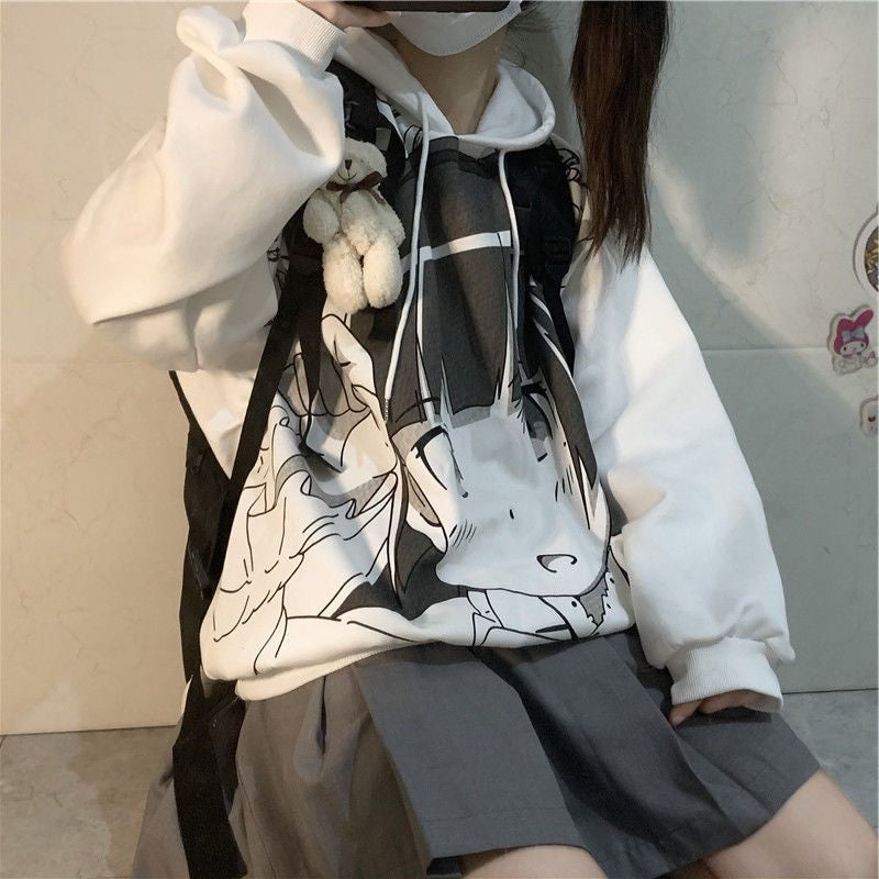 Cute comics hooded sweater YV43591