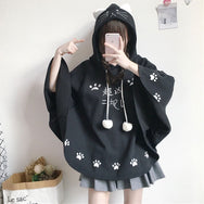 Cute cat embroidered coat YV40959