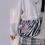 Cartoon bear shoulder bag yv43607