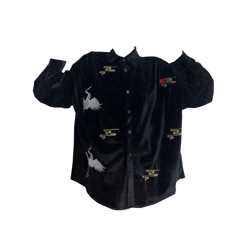 Unisex Embroidered Jacket YV41125